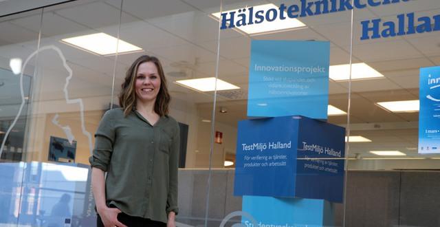Emma Börjesson är projektledare för Testmiljö Halland