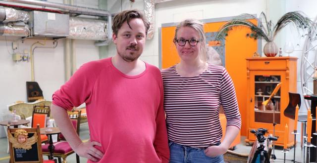 Charlotte Libäck och Ahlström är ansvarig för Kulturhuset.