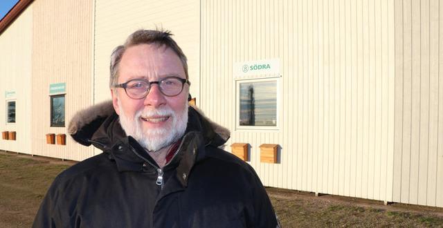 Göran Jönsson, är Region Hallands projektledare när Plönninge nu omvandlas till en arena för grön tillväxt.