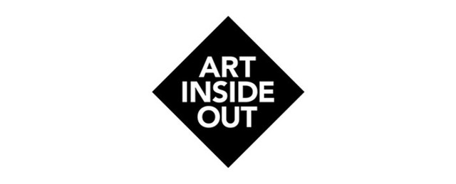 Logotyp med texten Art Inside Out.