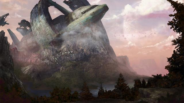 Lost Civilization. Illustration av Adrian Wirén.